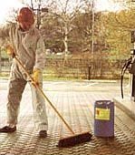 Professional maintenance and renovation of Stamped Concrete